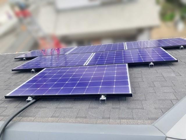 福岡県のS様邸にて、太陽光発電システムを設置しました≪施工後≫