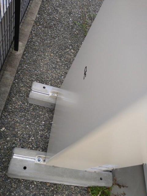 鹿児島県のN様邸にて、蓄電システムを設置しました≪蓄電池≫土台