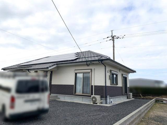 鹿児島県のD様邸にて、蓄電システムを設置しました≪お家≫