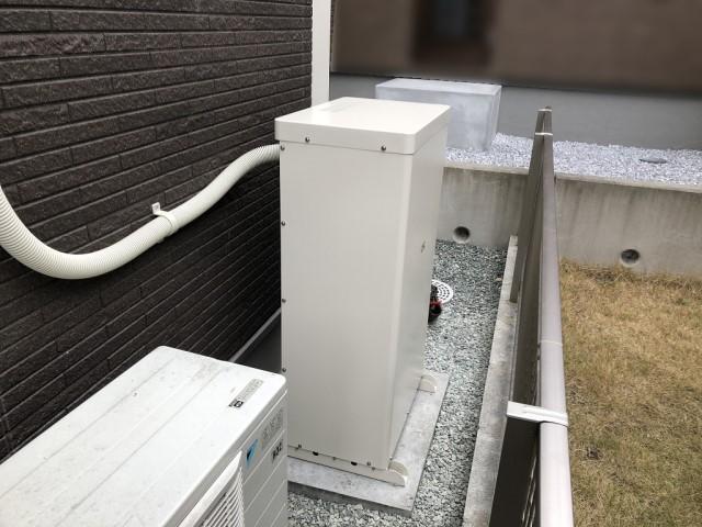鹿児島県のN様邸にて、蓄電システムを設置しました≪蓄電池≫