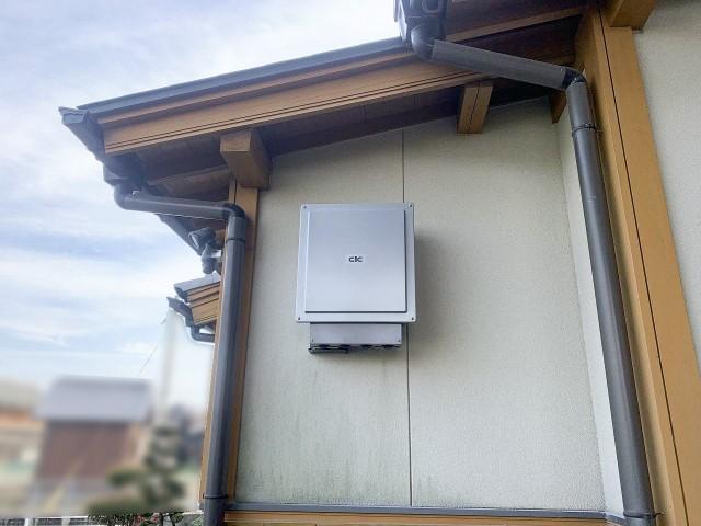 福岡県柳川市のS様邸にて、蓄電システムを設置しました≪施工後≫パワコン