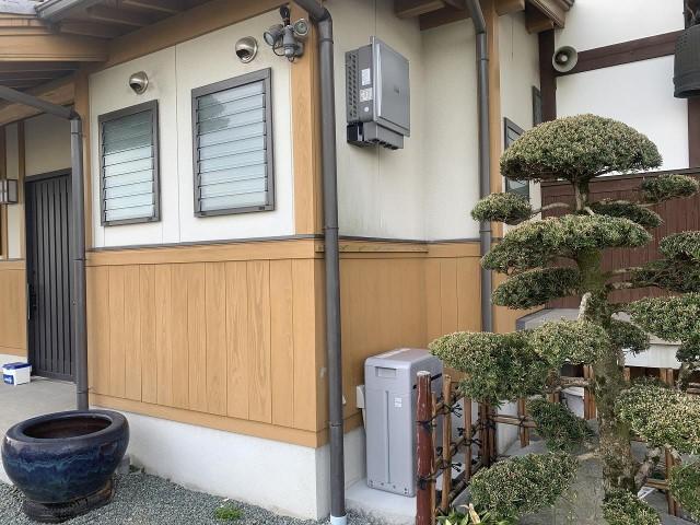 福岡県柳川市のS様邸にて、蓄電システムを設置しました≪外観≫