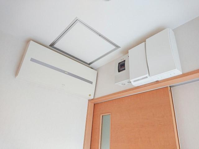 福岡県柳川市のS様邸にて、蓄電システムを設置しました≪施工後≫分電盤
