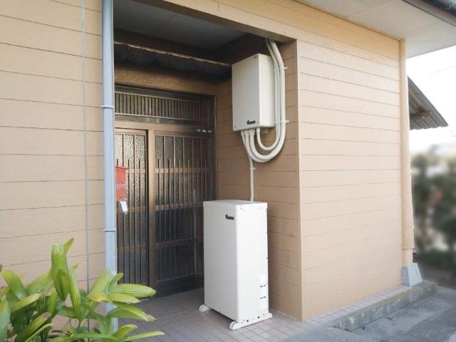 鹿児島県のS様邸にて、蓄電システムを設置しました≪外観≫
