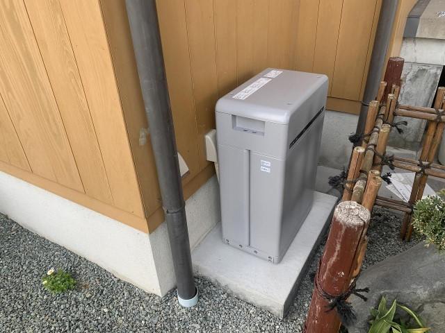 福岡県柳川市のS様邸にて、蓄電システムを設置しました≪施工後≫蓄電池