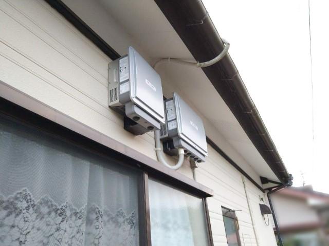 宮崎県宮崎市のH様邸にて、蓄電システムを設置しました≪パワコン≫