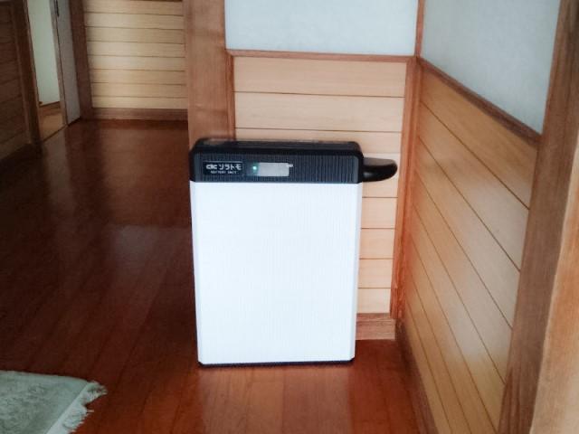 宮崎県宮崎市のH様邸にて、蓄電システムを設置しました≪蓄電池≫