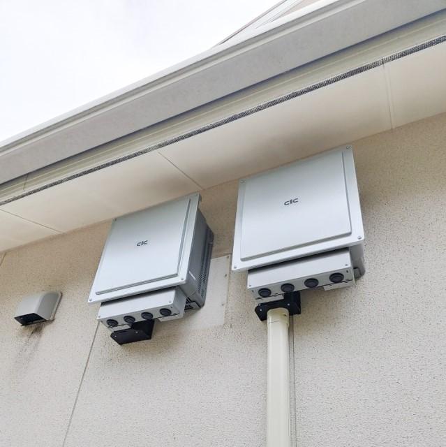 長崎県のW様邸にて、蓄電システムを設置しました≪パワコン≫