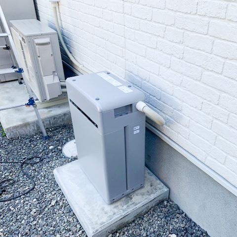 長崎県のM様邸にて、蓄電システムを設置しました≪本体≫大きさ参考