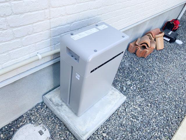 長崎県のM様邸にて、蓄電システムを設置しました≪本体≫
