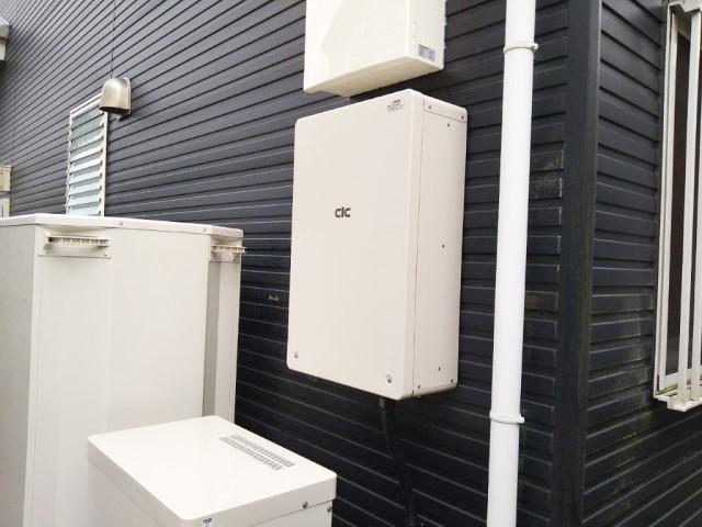宮崎県のK様邸にて、蓄電システムを設置しました≪パワコン≫