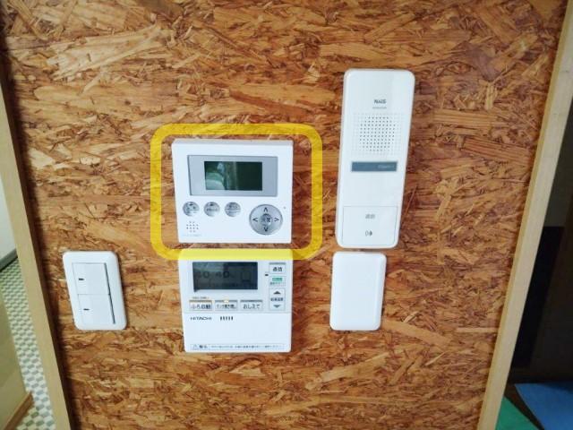 宮崎県のK様邸にて、蓄電システムを設置しました≪表示ユニット≫