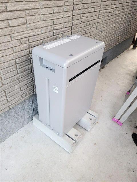 島根県のA様邸にて、蓄電システムを設置しました≪施工後≫