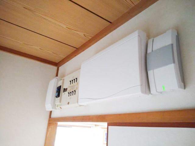 宮崎県宮崎市のH様邸にて、蓄電システムを設置しました≪分電盤≫