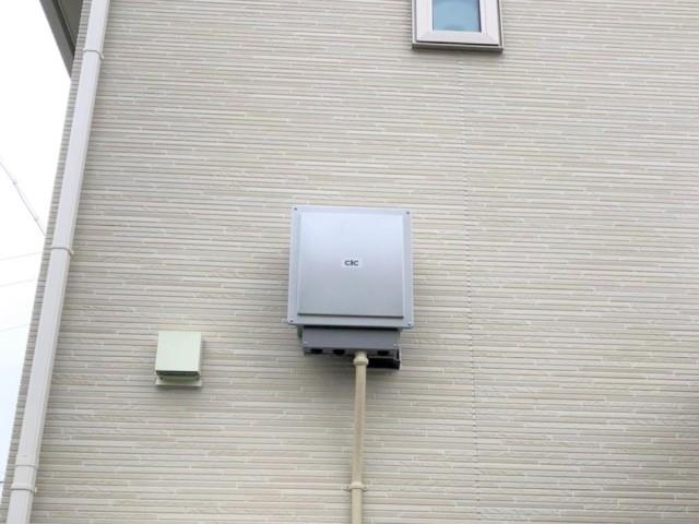 山口県のN様邸にて、蓄電システムを設置しました≪パワコン≫