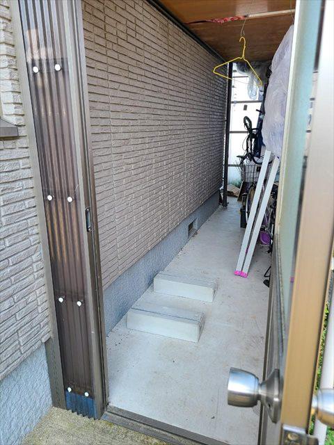 島根県のA様邸にて、蓄電システムを設置しました≪施工前≫