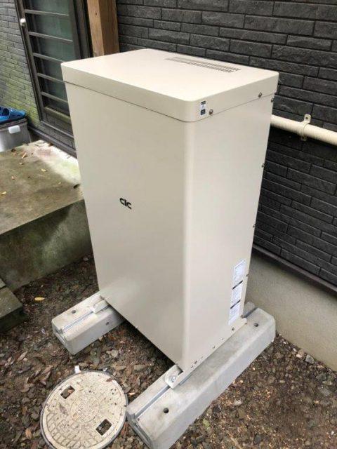 宮崎県のF様邸にて、蓄電システムを設置しました。≪蓄電池≫