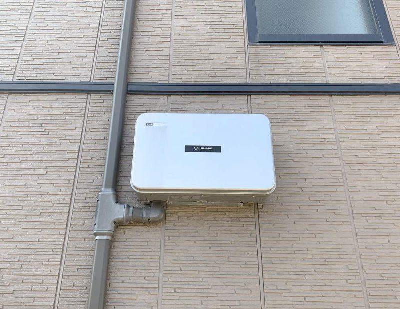 佐賀県のO様邸にて、蓄電システムを設置しました!