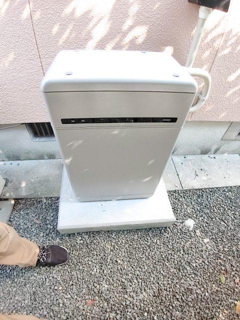 熊本県のK様邸にて、蓄電システムを設置しました!