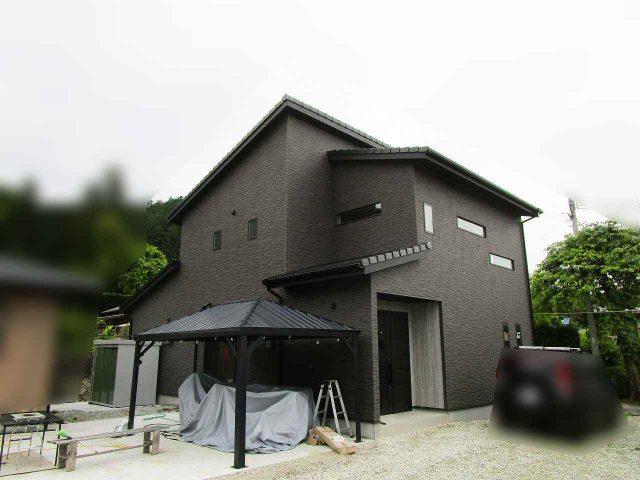 福岡県のO様邸にて、太陽光発電システムを設置しました!